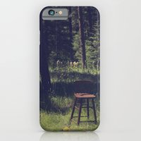 iPhone & iPod Case featuring Sitting Elsewhere by Blake Hemm