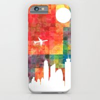 iPhone & iPod Case featuring Goodbye Blue Sky by Shipwreck Moon Designs