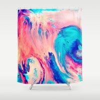 Spill Shower Curtain