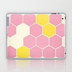 Pink Honeycomb Laptop & iPad Skin