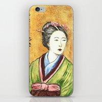 Japanese Woman iPhone & iPod Skin