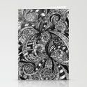 Drawing Floral Zentangle G6 Stationery Cards