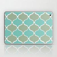 Marrakech Pattern Sea Green Laptop & iPad Skin