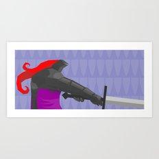 The Black Guard  Art Print