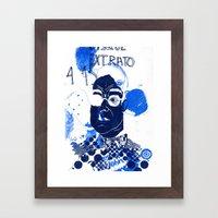 Jeez Framed Art Print