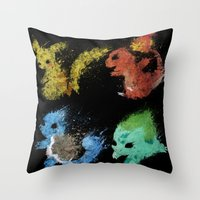 Starters V.2 Throw Pillow