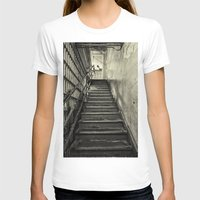 Alcatraz Womens Fitted Tee White SMALL