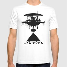 OVNI White SMALL Mens Fitted Tee