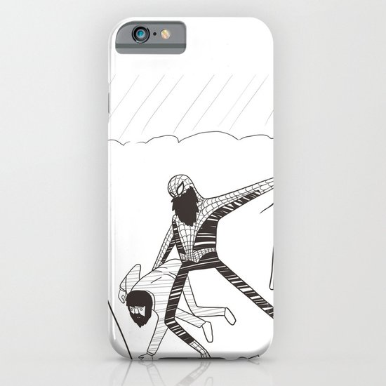 Spider-Beard iPhone & iPod Case