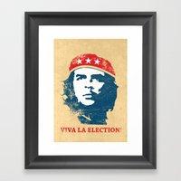 Viva La Election! Framed Art Print