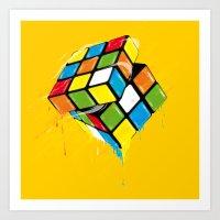 The Cube Art Print
