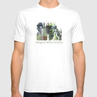 Niagara Wine Country / G… Mens Fitted Tee White SMALL