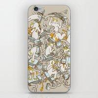 Inner Demons iPhone & iPod Skin