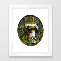 Forest Guardians Framed Art Print