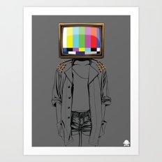 24K - No Signal Art Print