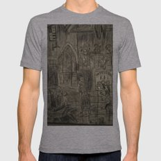ballroom Mens Fitted Tee Athletic Grey SMALL