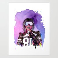 WTF Missy Elliott Art Print