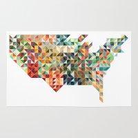 Geometric United States Rug