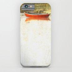 Red metal iPhone 6 Slim Case