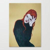 Le 3ème Oeil Canvas Print