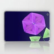 Night Bloom Laptop & iPad Skin