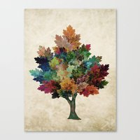 Fall Is Back! Canvas Print