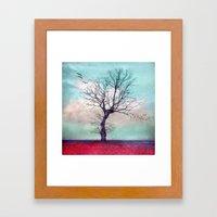 ATMOSPHERIC TREE | Longi… Framed Art Print