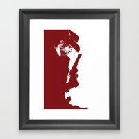 The Red Dead Redemption Framed Art Print