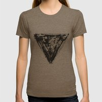 Hip to be Square Womens Fitted Tee Tri-Coffee SMALL