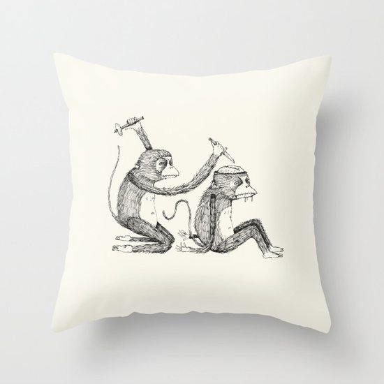 'Surgeon' Throw Pillow