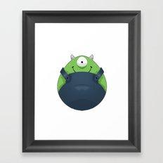 Minionski Framed Art Print
