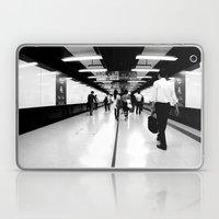 Underground [Black & Whi… Laptop & iPad Skin
