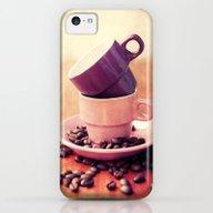 LE CAFE iPhone 5c Slim Case