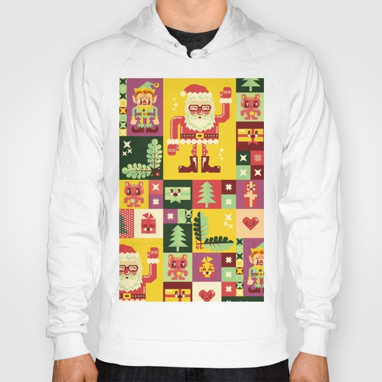 Christmas Geometric Pattern No. 1 Hoody
