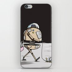On the moon 1 iPhone & iPod Skin