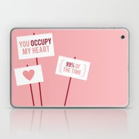 Occupy My Heart Laptop & iPad Skin