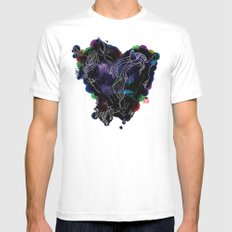 LOVERS Mens Fitted Tee SMALL White