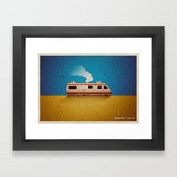 Breaking Bad - 4 Days Ou… Framed Art Print