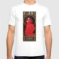 Lydia Nouveau - Beetlejuice Mens Fitted Tee White SMALL