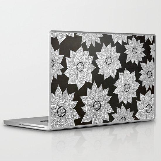 Elegant Flora Laptop & iPad Skin
