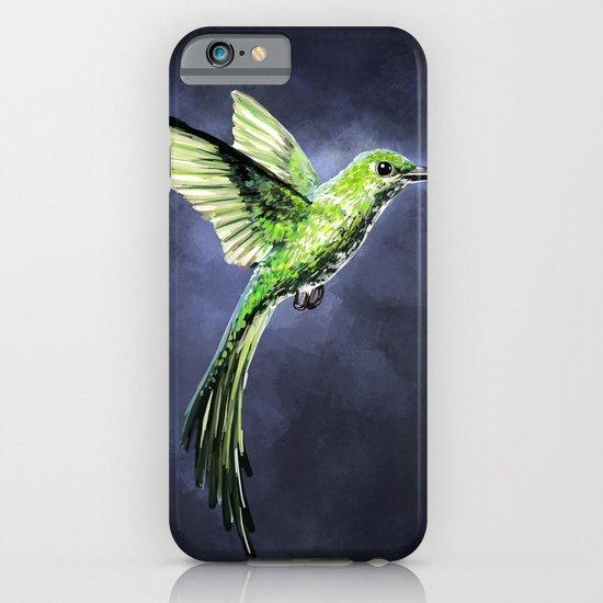Green Hummingbird iPhone & iPod Case