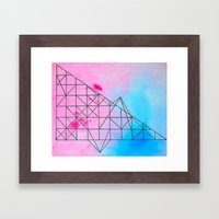 Geometric 536 Framed Art Print