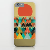 iPhone Cases featuring Tipi Moon by bri.buckley