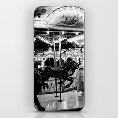 Navy Pier's Carousel at Night iPhone & iPod Skin