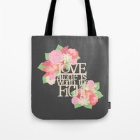 Worth the Fight Tote Bag