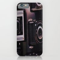 iPhone & iPod Case featuring Vintage Camera by liberthine01