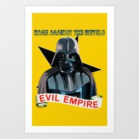 Evil Empire Art Print