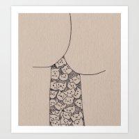 Things That Are Cute: Bu… Art Print