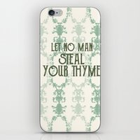 Let No Man iPhone & iPod Skin