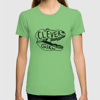Clever Girl Womens Fitted Tee Grass SMALL